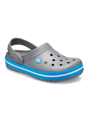 Crocs Crocs 1101607W Crocband Unisex Sandalet Terlik Gri